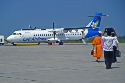Budget flights to Laos