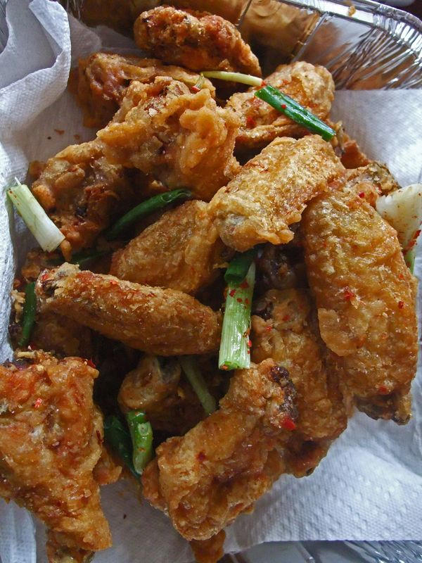 Mmm yoso salt and pepper chicken wings the challenge a salt and pepper chicken wings the challenge a comparison of salt and pepper chicken wings forumfinder Choice Image