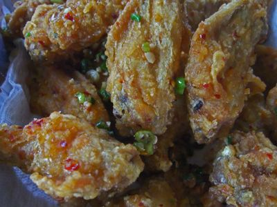 taiwanese salty peppery chicken recipe