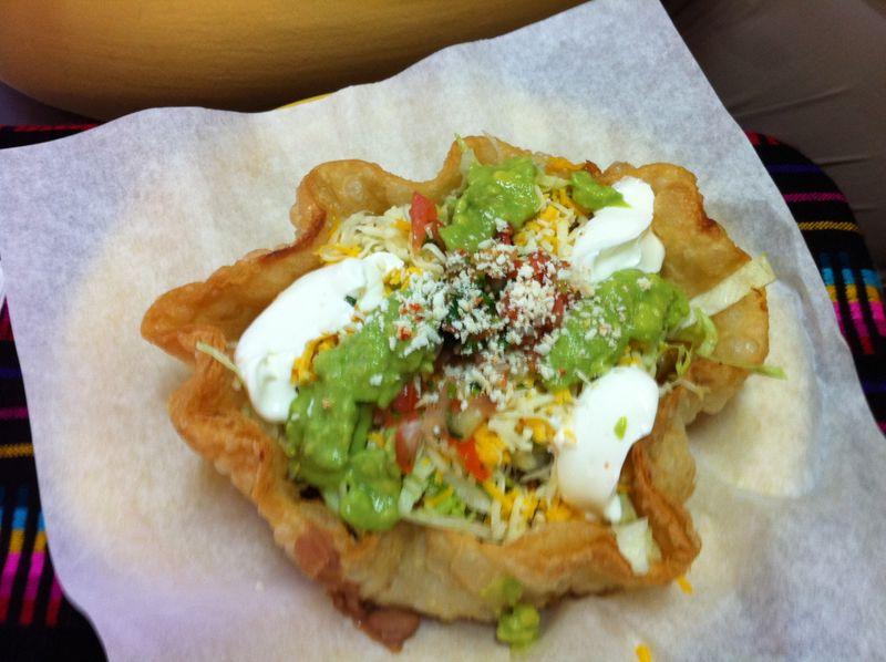 Mini Shredded Beef Taco Salads In Crispy Corn Tortilla Cups Recipe ...