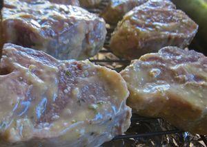 Smoked Greek Style Lamb Chops 03