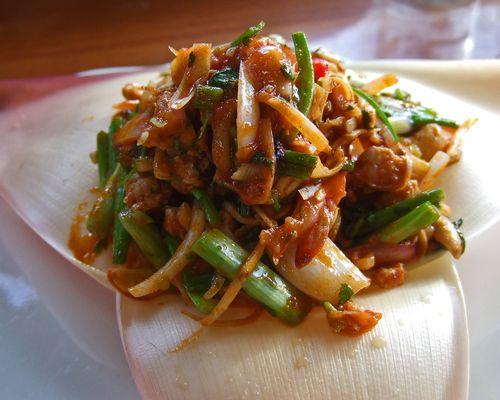 The Wok Restaurant - Banana Blossom Salad