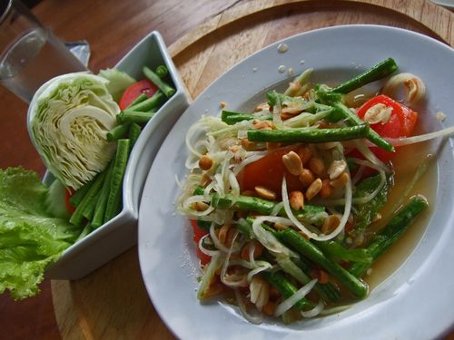 The Wok Restaurant - Papaya Salad