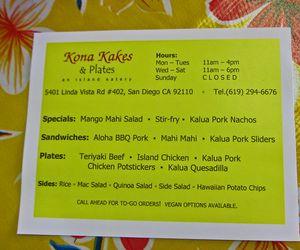 Kona Kakes Plates 08