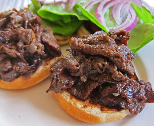 Teri Beef Sandwiches 03