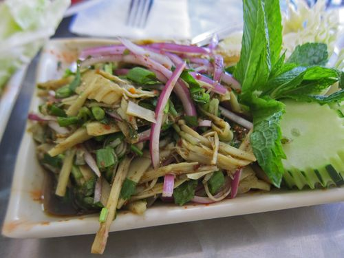 Spicy Bamboo Shoot salad