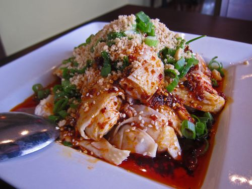 Cold Chicken With A Spicy Sichuanese Sauce (Liang Ban Ji) Recipes ...