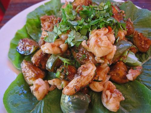 Thai Garlic Shrimp and Eggplant 03