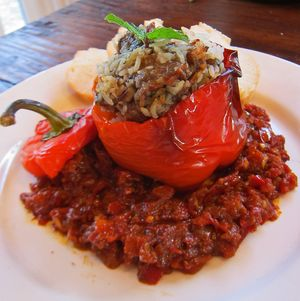 Lamb and Rice Bell Peppers 04