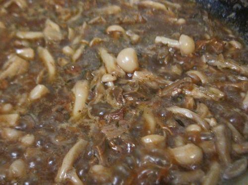 Maitake Porcini Sauce 04