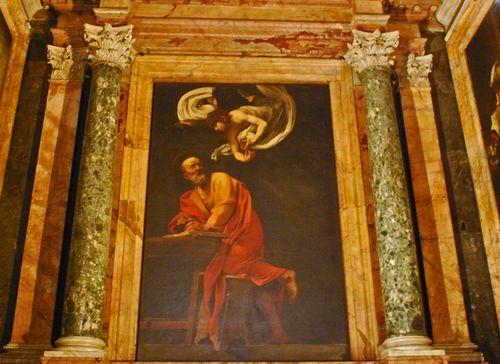 The Inspiration of St Matthew - San Liugi