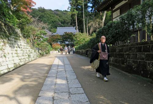 On the Grounds of Engaku-Ji