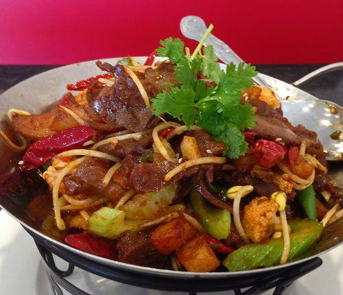 Beef Dry Pot - Qi Wei Kitchen