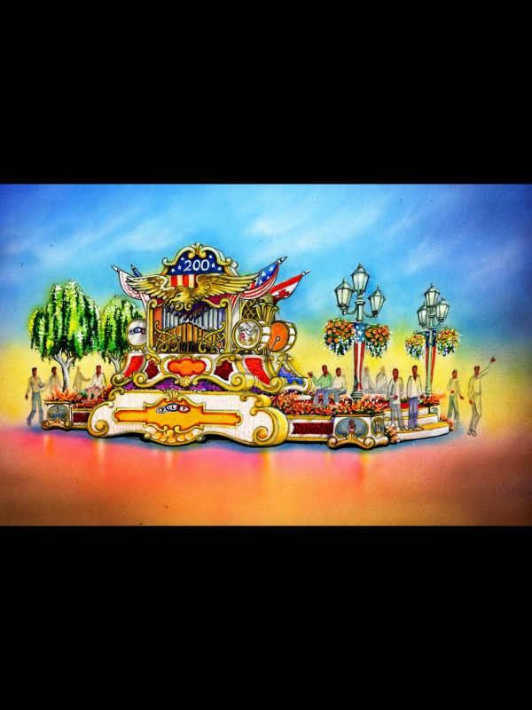 2019 Tournament Of Roses Rose Parade Float Road Tests 1
