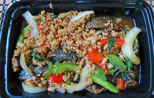 Kai Yiew Ma Pad Kra Pow - Chaba Thai