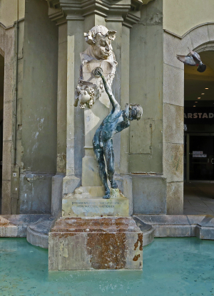 Brunnenbuberl fountain 02