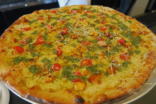 Pesto Chicken Pizza - Poseidon Project