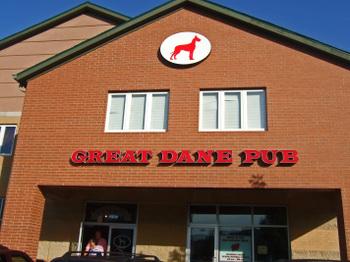 Great Dane Restaurant Menu