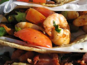 Tres Tacos at Mariscos German - mmm-yoso!!!