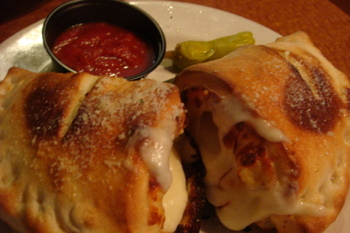 Hungry Howies Calzone