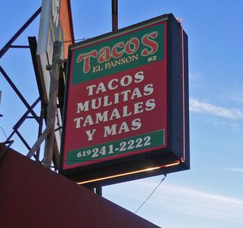 Tacos El Panson Mmm Yoso